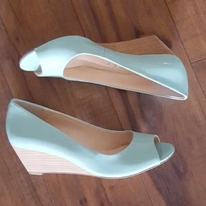 Sole Society - So-Laurie Light Blue Wedges